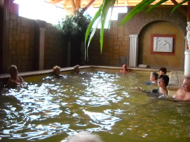 cvičení v bazénu 2.